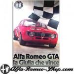 Alfa Romeo poster la Giulia che Vince