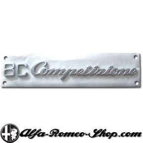 Alfa Romeo 8C Competizione badge