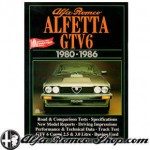 Alfa Romeo Alfetta GTV6 road test book