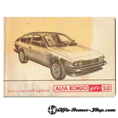 Alfetta GTV 2.0 User Manual
